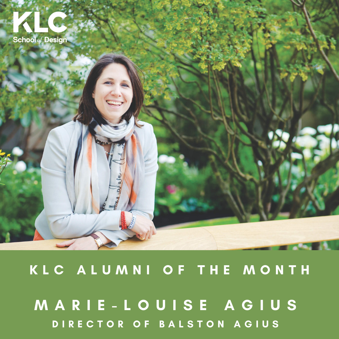 Marie-Louise is KLC Alumni of the month